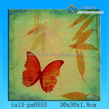 New product Butterfly canvas panting