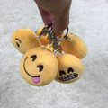 Factory Price Emoji Cotton Filling Hanging Ornament With Optional Hanging Choices