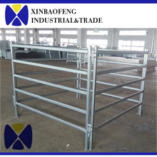 high quality galvanized horse fencing panel used horse stalls