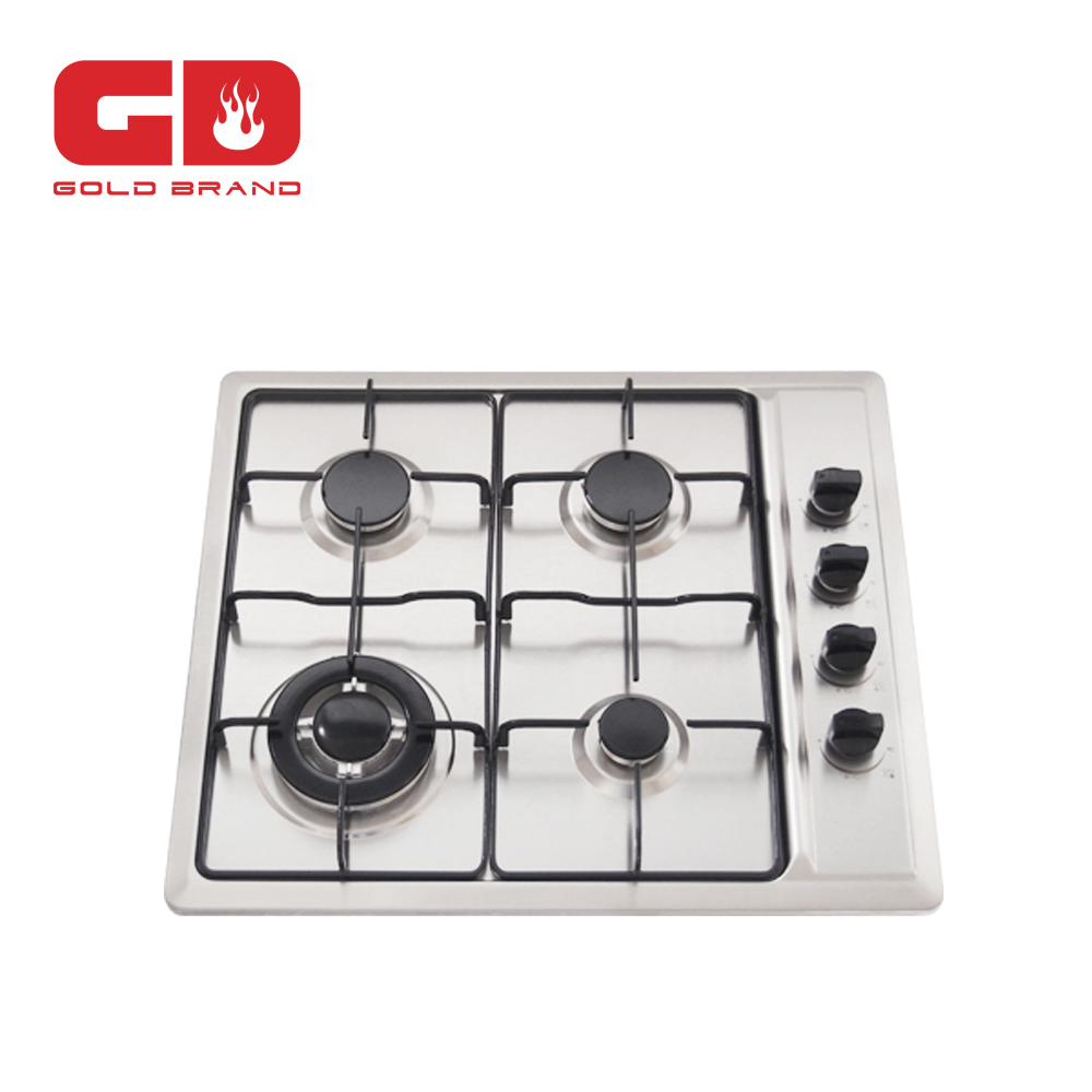 Tempered glass 4 burner <strong>gas</strong> built in hobs hot selling