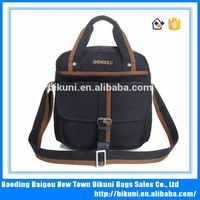 Bulk sales for men's fashion leisure work special oblique cross and hand bag, nylon shoulder bag