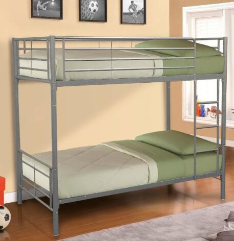 Deluxe Steel Double Layers Bunk Bed Home Furniture New Designal Cheap Bunk Bed