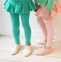 colorful children's legging , girl's pantskirt