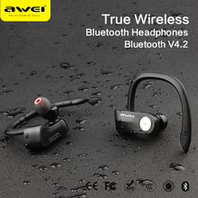 AWEI T2 TWS Ture New Products 2017 Wireless Bluetooth Head Set Earphone Mini Earpieces