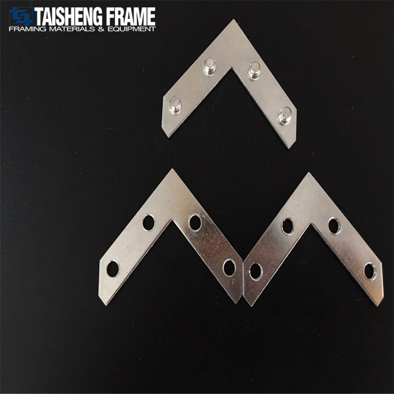 New design Aluminium framing corner connector Strong <strong>L</strong> palte Aluminum alloy accessories