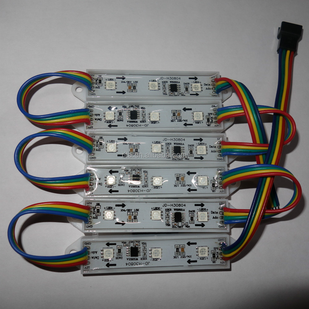 Ws2821a Dc12v Led Pixel Module072wip68parallel Single Wire Three Electrical Wiring Channels 256gray Level Constant Current Driver Ic Buy