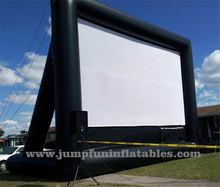 open cinema Inflatable Screen outdoor Movie Projection Inflatable PVC screens for rental