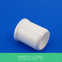High Hardness Zirconium Oxide Ceramic/Zirconia Ceramic Tube/Sleeve/Bushing For Electrical Engineering/INNOVACERA