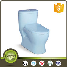 cp-241b ceramic light blue siphonic two piece bathroom toilet