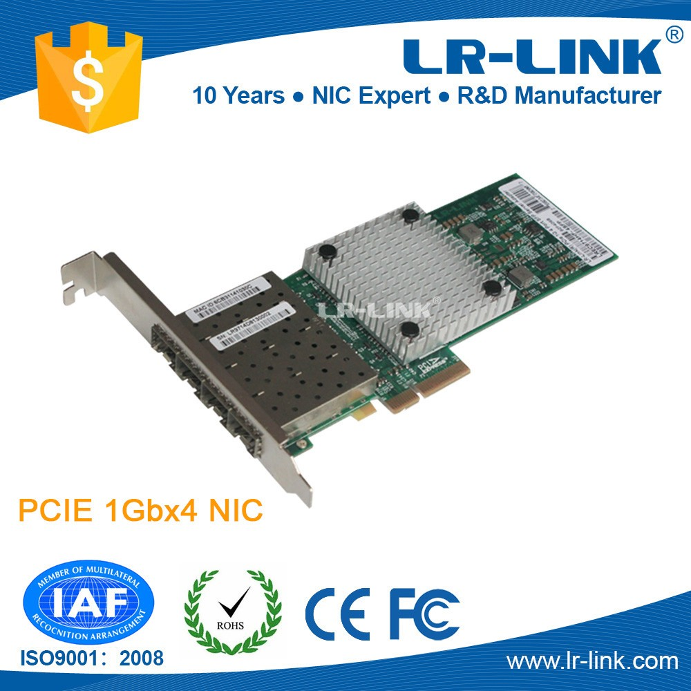LREC9714HF-4SFP Intel I350 PCIe Multi Port bootrom lan card price