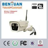 Modern Megapixel IP camera 2pcs Led Array wireless outdoor security camera sd card,wifi ip camera