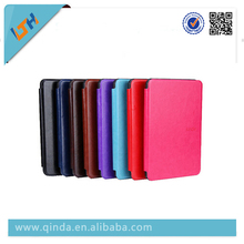 2014 Newest Leather Case Cover For Amazon Kindle E-book With Free Shipping Genuine leather Leather Case