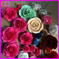 hand craft paper flower roses