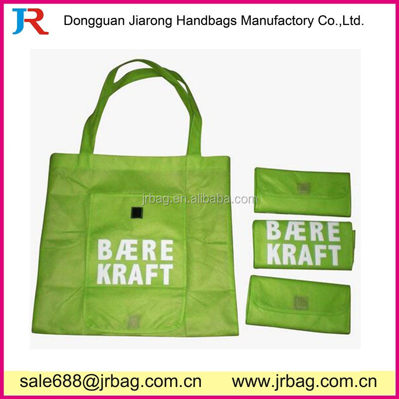 Cheap Different color shopping bag folding shopping bag
