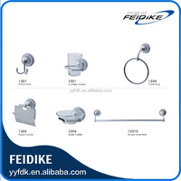 Feidike 1200 series modern zinc alloy chrome polished bathroom accessories sets