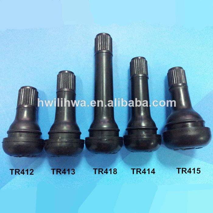 High quality EPDM Rubber snap in tire valves for car