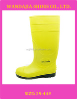 Men's PVC Knee High Steel Toe Cap Safety Rain Boots