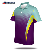 Customized Sublimation Polo Shirt polo t shirt men Made in Achieve China