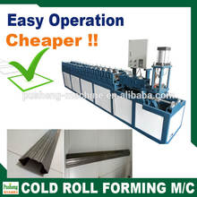 fascia valley gutter cold bending machine