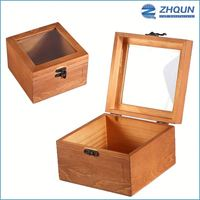 Newly Retro Style Stablized Antique Wood Present Jewelry Storage Christmas Gift Small Chest Box