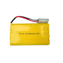 Pkcell Nicd Aa 700Mah 9.6V Ni-Cd Rechargeable Battery Pack