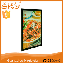 Magnetic shadow light box frames wholesale magnetic suction boxes light box display
