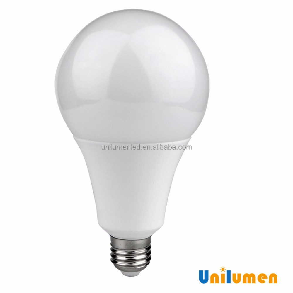 Hot sale Plastic with Aluminum 4000K NW SMD 2835 A95 E27 18W led bulb 220v
