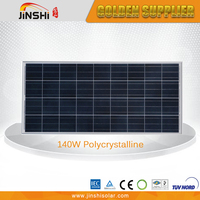 CE TUV certificated import solar panels 140W 18V thin film solar cell for solar system