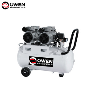 Low pressure oil less direct quite air compressor without belt