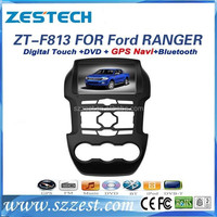 ZESTECH car entertainment system for ford ranger in car dvd gps navigation