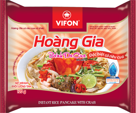 Hoang Gia Pho Instant Noodles With Beef 120g