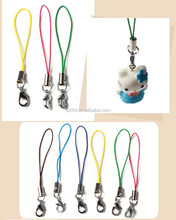 customized high quality mobile phone finger strap/mobile phone security strap/korea phone strap