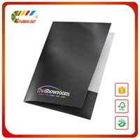 Low price high quality short run special paper file design a3 a4 a5 size presentation folder