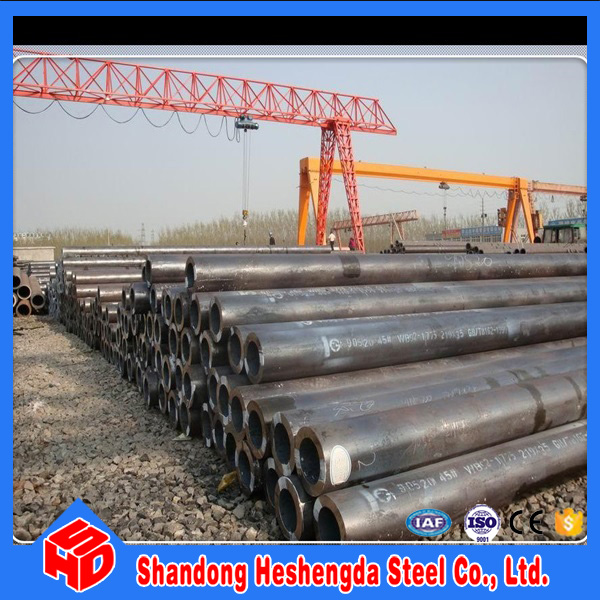 China supply cold drawn St42 carbon seamless steel pipe