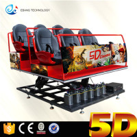 Amusement Rides 6dof Motion Dynamic 5d Cinema System In Park
