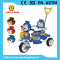 tricycle new model 2017 children tricycle with cute pengiun heand baby musical tricycle direction can be control baby trike