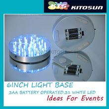 Enthusiastic wireless battery operated LED base windown lights