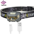 USB Rechargeable led headlamp,3W LED head lamp,rechargeable head lamp