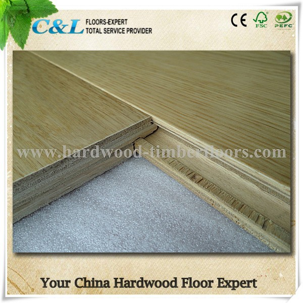 Prime quality engineered flooring oak wood from China factory