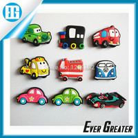 custom epoxy fridge pvc magnet, lovely rubber magnets for fridge 3d magnets