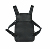 2019 New launched multi colors black , white , red , leather  chest rig bag