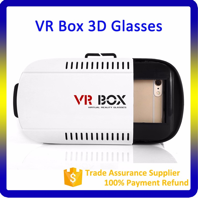 Google Vr Box 3.0 With Bluetooth Remote Controller VR Box 3D Glasses