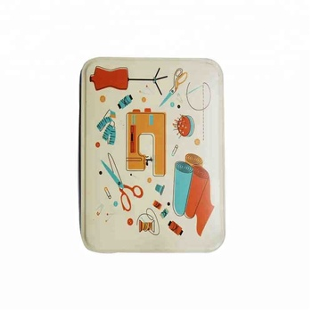 Tin New Cheap Free Sample Wholesale Hotel Travel Mini Sewing Kit For Children With Button New For Adults