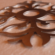 custom made metal craft laser cut outdoor metal art