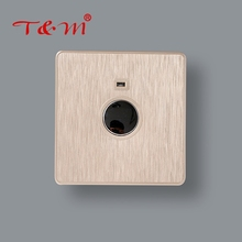 Factory wholesale home electrical sensor wall light touch delay switch
