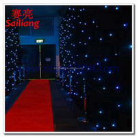 stock curtain of star curtain/led star curtain