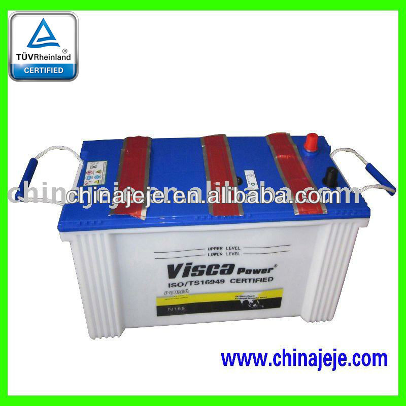 Lead acid battery N165 12V165AH VISCA