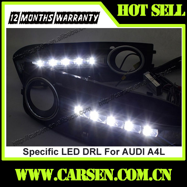 Car Lighting DRL LED Daytime Running Light For audi a4 Lamp