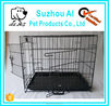 Double-Door Folding Metal Pet Crate Cage for Dog
