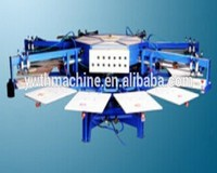 Automatic Rotary 6 Color Screen Printing Press